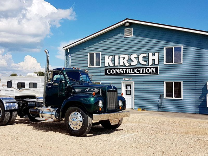 Kirsch Construction office