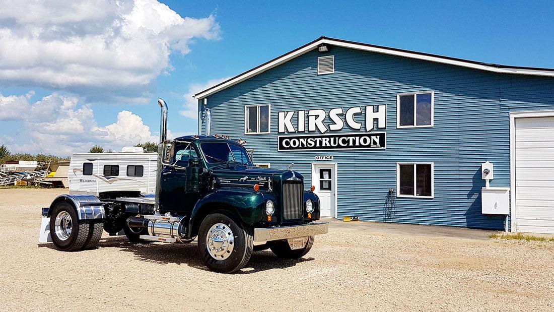 Kirsch Construction office